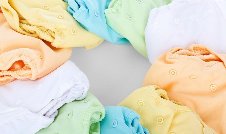 De voordelen van wasbare luiers voor de gevoelige huid van een baby